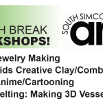 MARCH BREAK at the South Simcoe Arts Council!!