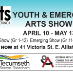 YOUTH & EMERGING ARTS SHOW AWARDS ANNOUNCEMENT