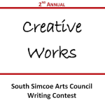 Creative Writing Contest Submission Date Extended