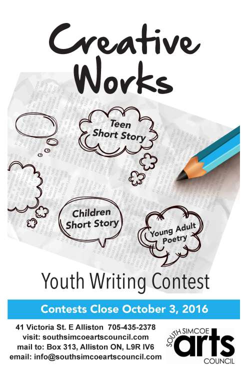 tccl creative writing contest
