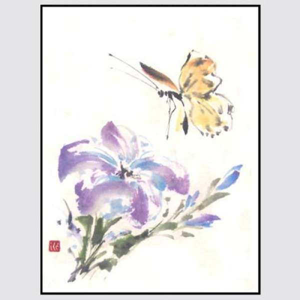 More... SUMI-E PAINTING (Oriental Brushstrokes) with Roslyn Levin