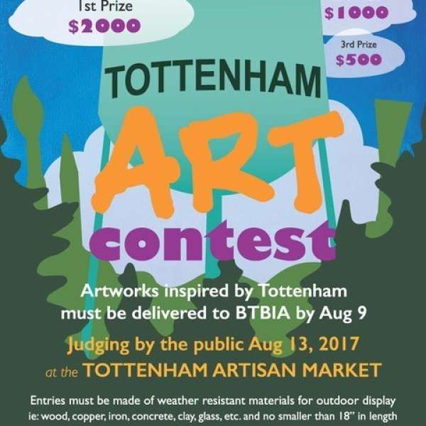 3rd Annual Tottenham Art Contest