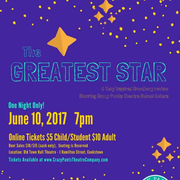 The Greatest Star: Saturday June 10