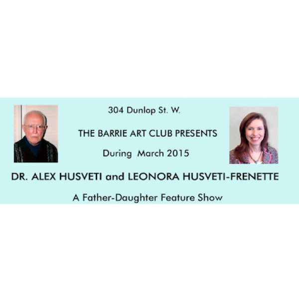 Dr. Alex Husveti and Leonora Husveti-Frenette