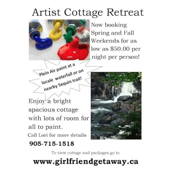 Artist Cottage Retreat Weekends