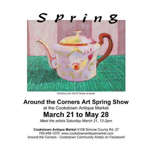 Around the Corners Art Spring Show