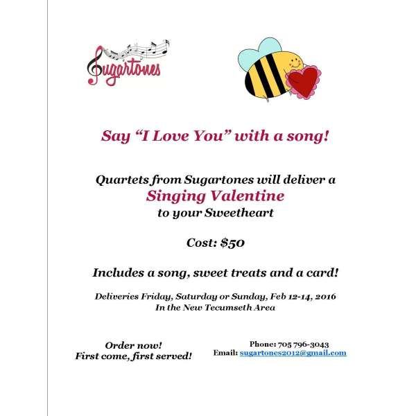 "Say ""I Love You"" With A Song!"