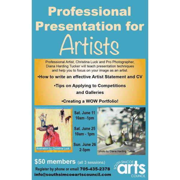 Professional Presentation for Artists
