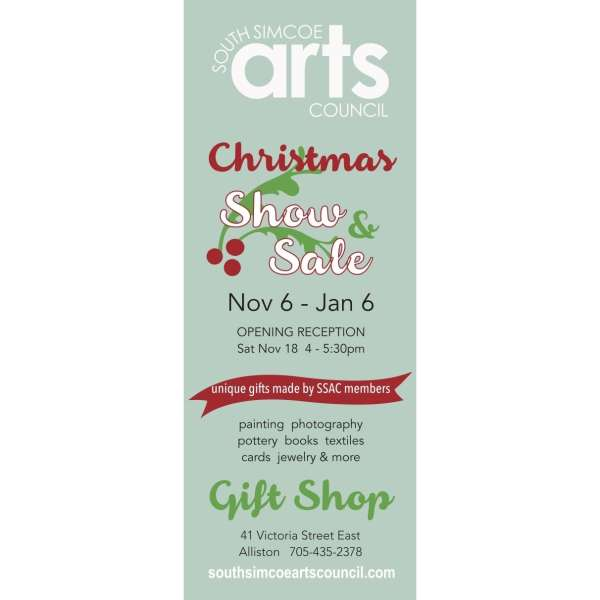 The SSAC Christmas Show and Sale