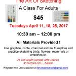 THE ART OF SKETCHING - A Class for Adults