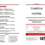 2nd Annual Creative Works - South Simcoe Arts Council Writing Contest