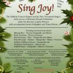 SING JOY with The New Tecumseth and Dufferin Singers