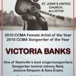 Victoria Banks: Award winning Country Music Star
