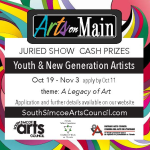 Call for Artists - Arts on Main: Youth & New Generation Artists