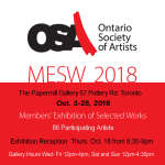 Diana Harding-Tucker on exhibit at the OSA MESW 2018