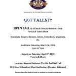 Got Talent? Audition Call