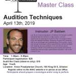 MFMC 01 - Master Class Series: Dramatic Audition Techniques