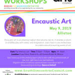 Encaustic Art Workshop - Alliston - Teen - Adult