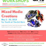 Mixed Media Creations - Ages 6 to Teen