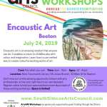 Encaustic Art - Beeton - Adult [14+]