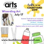 Wizards in the Courtyard - Recommended Ages 7 to 14