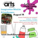 Imagination NiteLights & Landscapes in the Courtyard    - Recommended Ages 7 - 14