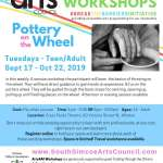 Pottery on the Wheel: Afternoon - Teen/Adult