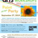 Paint Party [Culture Days] Afternoon - All ages**