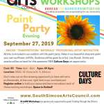 Paint Party [Culture Days] Evening - All ages**