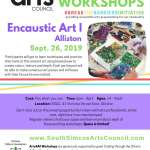 Encaustic Art I: Alliston - Ages 14 to Adult