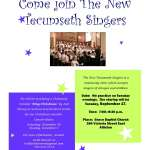 Join the New Tecumseth Singers