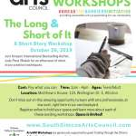 The Long & the Short of It: A Short Story Workshop - Teen/Adult