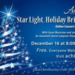 STAR LIGHT, HOLIDAY BRIGHT! Achill Choral Society