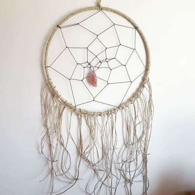 Art of Macrame: Dream Catcher - 8+