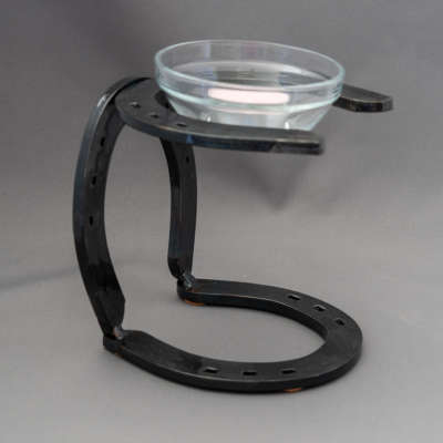 Horseshoe - Candle Holder