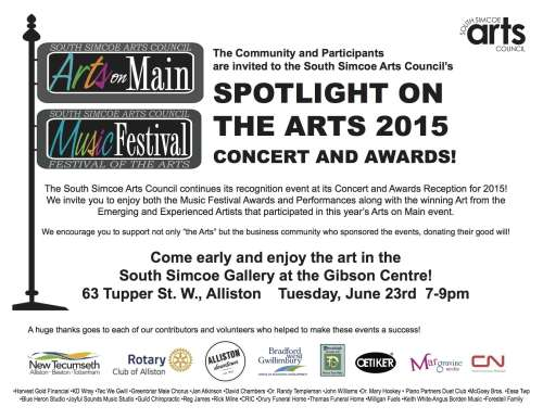 Spotlight on the Arts Concert and Awards