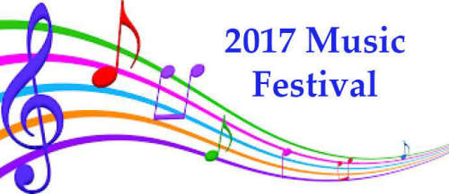 2017 MUSIC FESTIVAL STARTS SATURDAY, APRIL 8, 2017