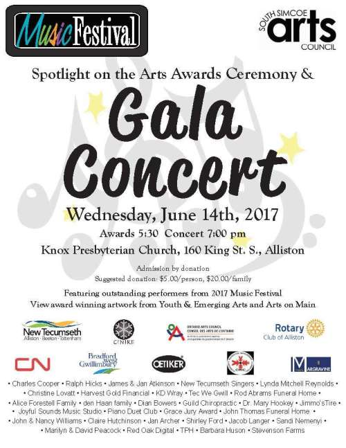 SPOTLIGHT ON THE ARTS ~ Awards Ceremony & Gala Concert