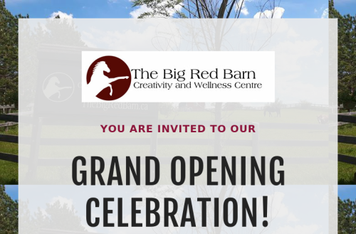 The Big Red Barn Grand Opening Celebration!