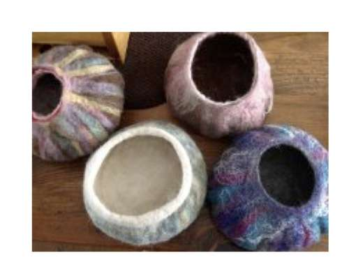 How To Make 3D Felted Vessels with Gail Franklin-Hawes