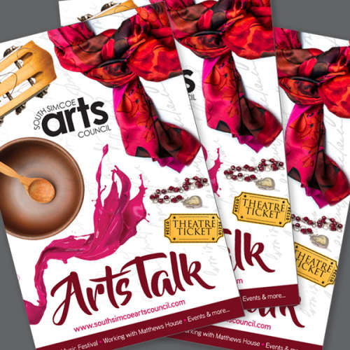 The New Arts Talk Magazine is Available Now!!!