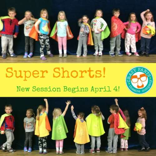 Super Shorts! at Crazy Pants Theatre