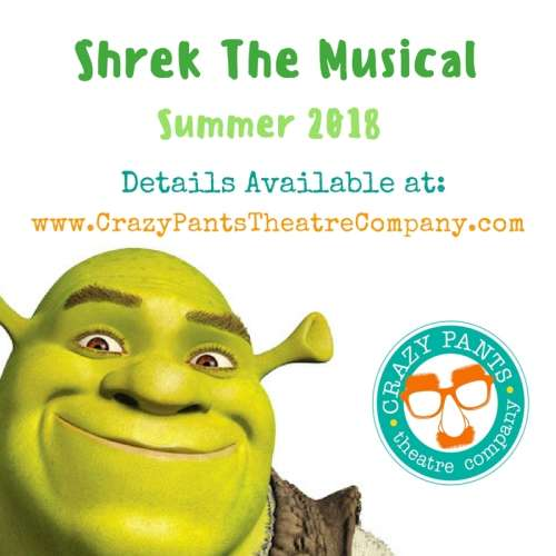 Shrek the Musical: Summer Theatre for Youth