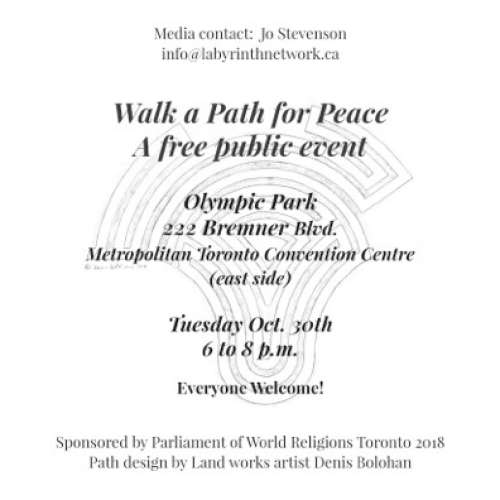 Walk a Path for Peace: A free public Event