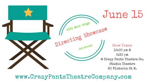 3rd Annual Crazy Pants Directing Showcase