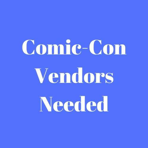 Comic-Con Vendors Applications