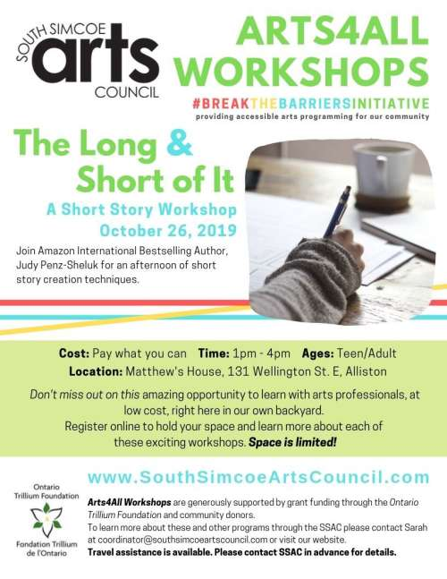 The Long & the Short of It: A Short Story Workshop
