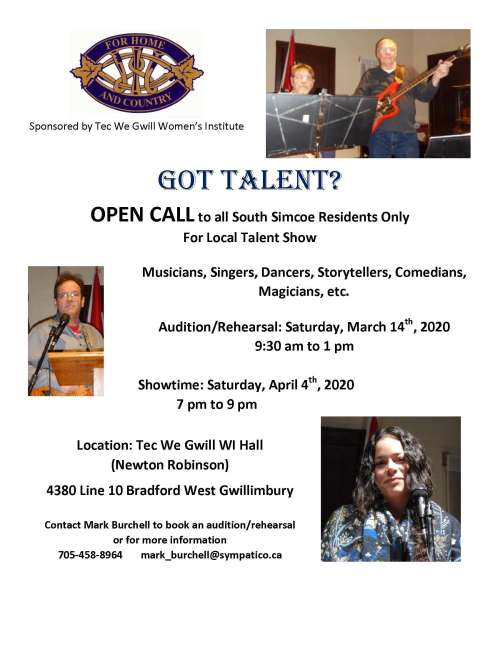 Open Call for Talent Show