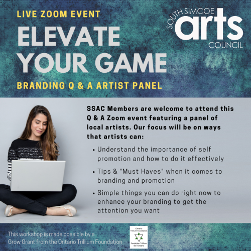 Elevate Your Game: Branding Q & A Artist Panel