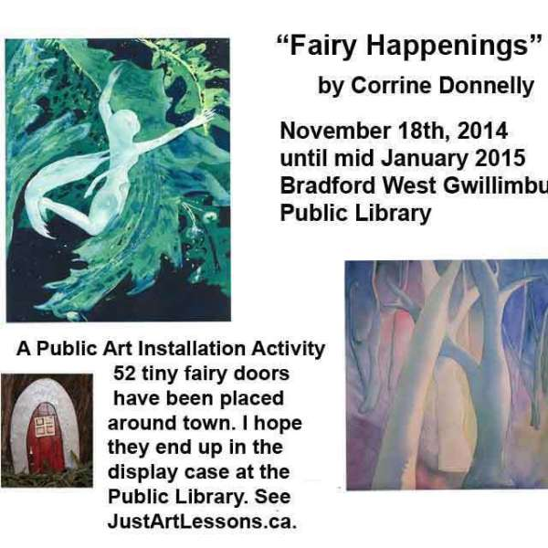 Fairy Happenings by Corinne Donnelly